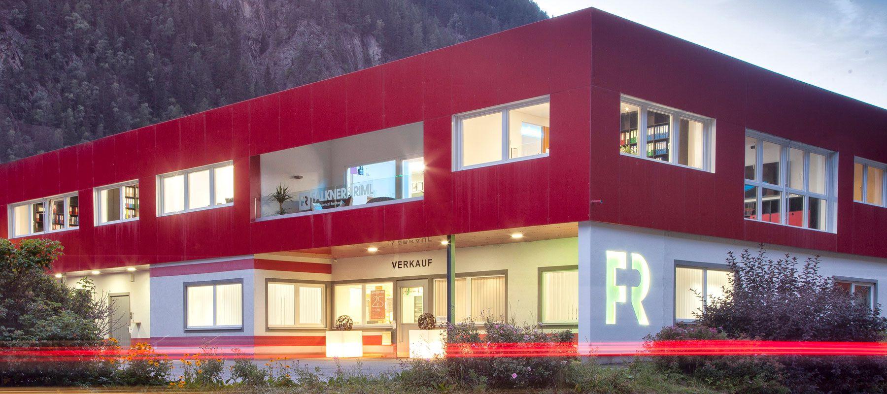 Falkner & Riml Zentrale