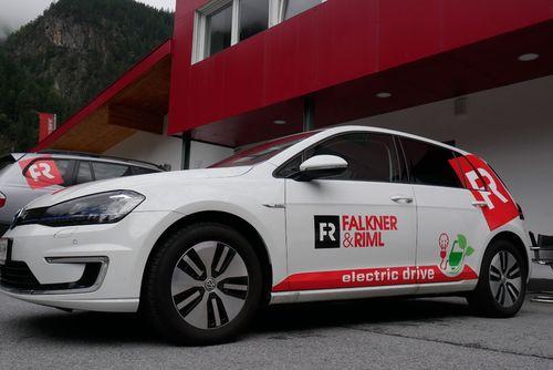 Elektro-Auto im Berufseinsatz